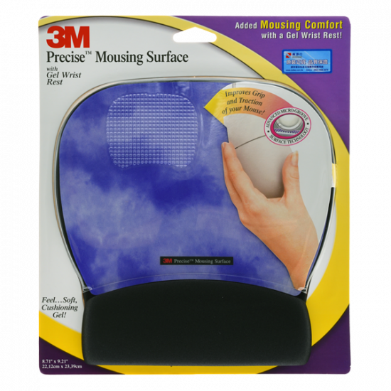3M MOUSE PAD GEL PRECISE SURFACE MW311