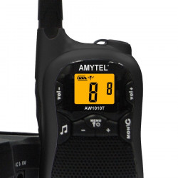Amytel AW1010T Walkie Talkie (Dual Pack)