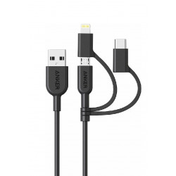 Anker PowerLine II 3-in-1 Cable 0.9m