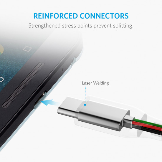Anker PowerLine+ USB-C to USB3.0 Cable 1.8m
