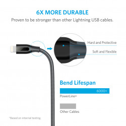 Anker PowerLine+ Lightning Cable 0.3m