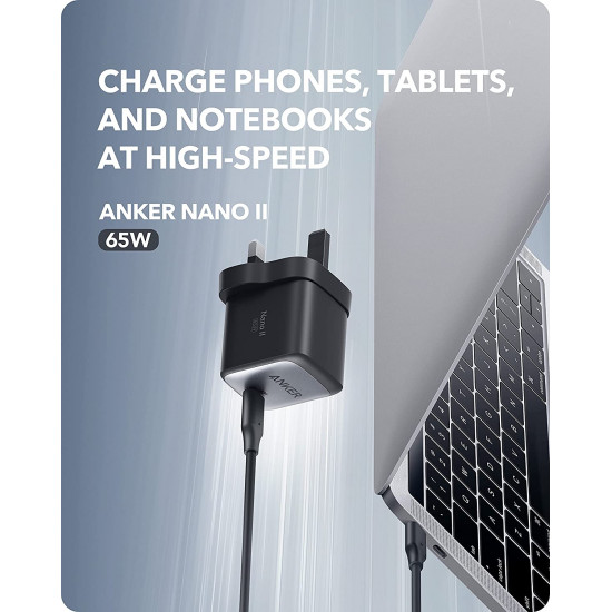 Anker Nano II 65W PD GaN USB Charger