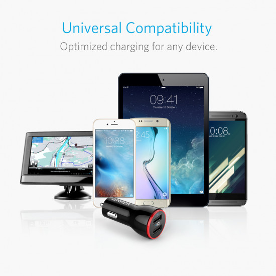 Anker PowerDrive 2 Car Charger (2Port / 4.8A)