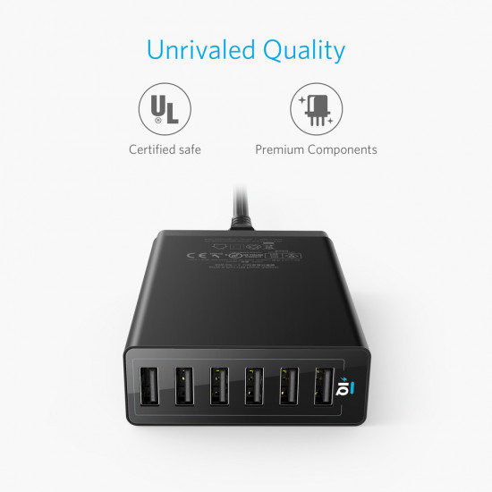 Anker PowerPort 6 USB Charger