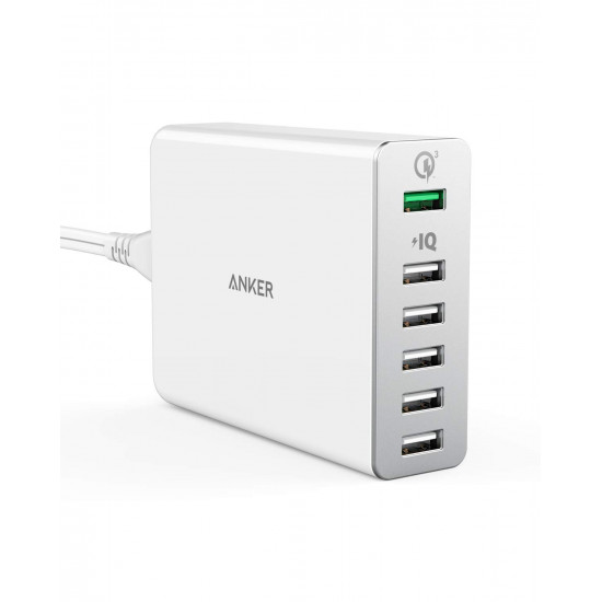 Anker PowerPort+6 USB Charger with QC3.0