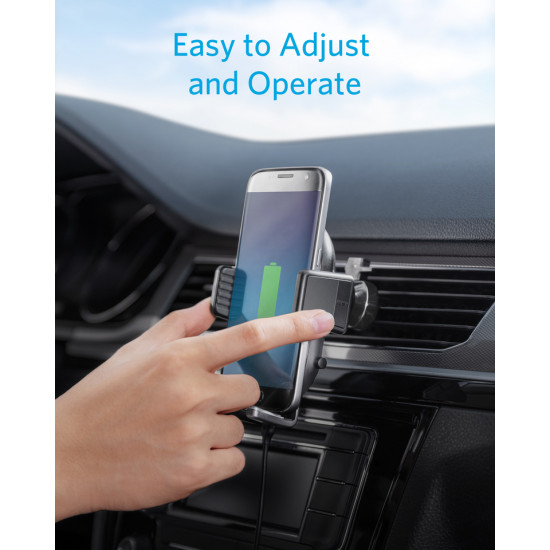 Anker PowerWave Fast Wireless Car Charger