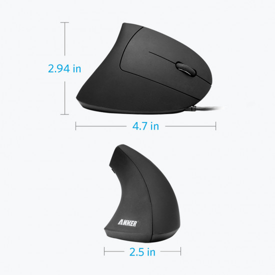 Anker Vertical Mouse USB