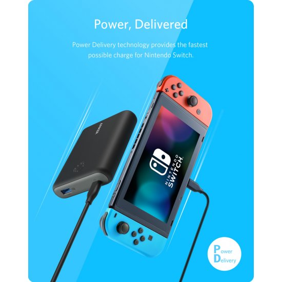 Anker PowerCore 13400 Nintendo Switch Edition