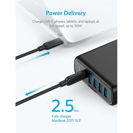 Anker PowerPort I PD 5Port USB Charger
