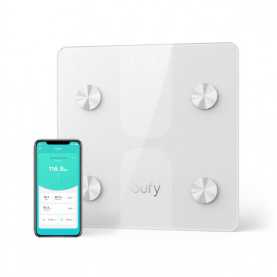 eufy by Anker Smart Scale C1 - White