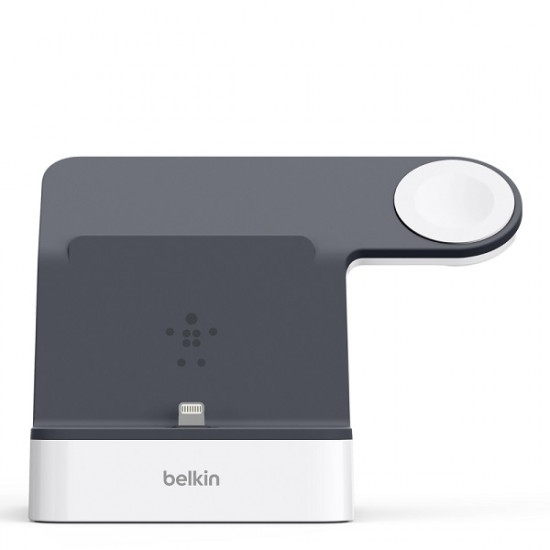 Belkin PowerHouse 2-in-1 Charging Dock F8J237qeWHT