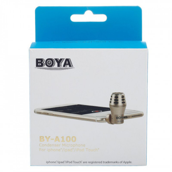 BOYA CONDENSER MIC FOR IPHONE BY-A100