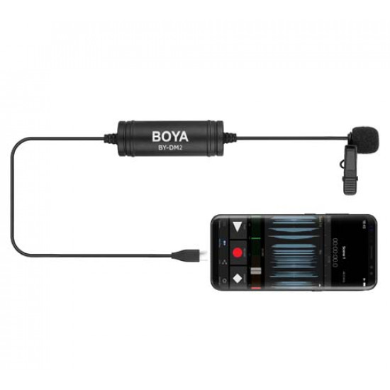 BOYA LAVALIER MICROPHONE (TYPE-C) BY-DM2