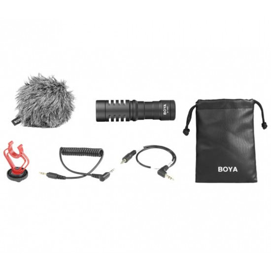 BOYA UNIVERSAL CARDIOID MIC BY-MM1
