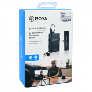 BOYA WIRELESS MICROPHONE BY-WM4 PRO K5