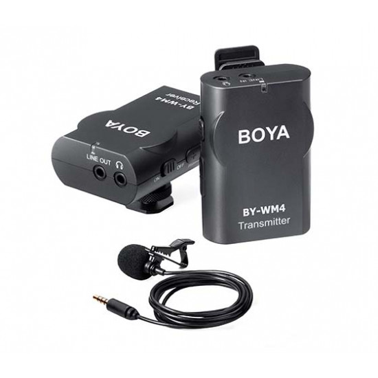 BOYA WIRELESS MICROPHONE BY-WM4