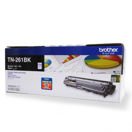BROTHER TN-261BK TONER MFC-9140CDN 2.5K