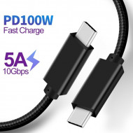 USB-C to USB-C 3.1 GEN2 100W Cable 1M