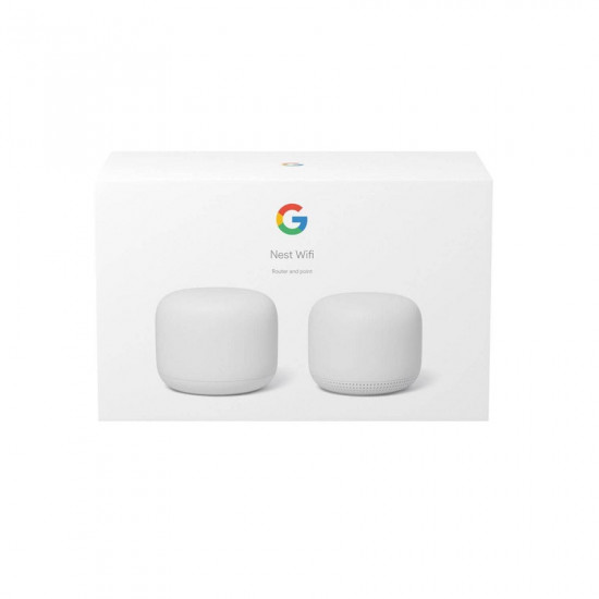 Google Nest Wifi Router and Point