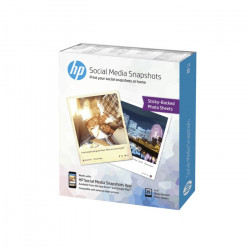 HP K6B83A Social Media Snapshots Removable Sticky Photo Paper