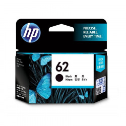 HP C2P04AA Black Ink Cartridge (62)