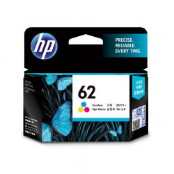 HP C2P06AA Color Ink Cartridge (62)