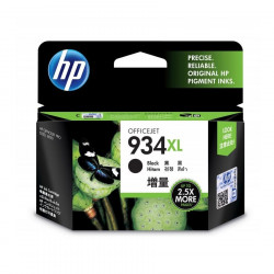 HP C2P23AA Black Ink Cartridge (934XL)