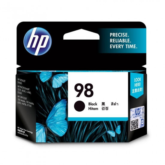 HP C9364WA Black Ink Cartridge (98)