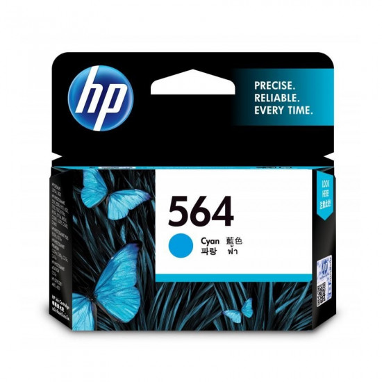 HP CB318WA Cyan Ink Cartridge (564)