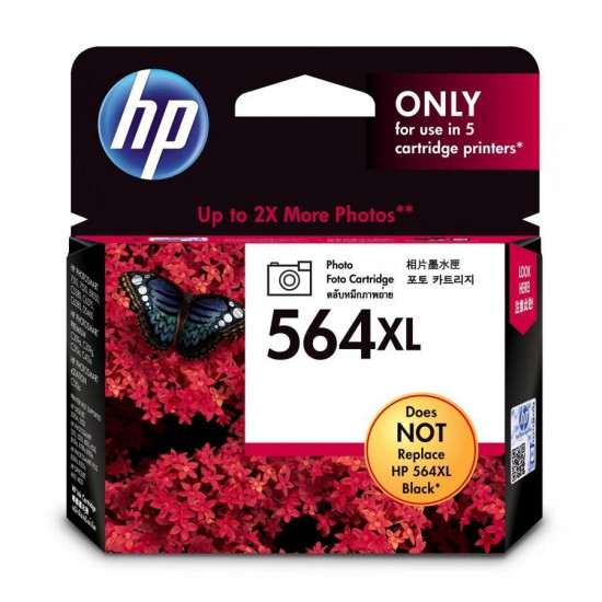 HP CB322WA Photo Ink Cartridge (564XL)