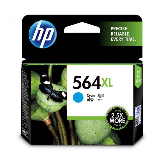 HP CB323WA Cyan Ink Cartridge (564XL)