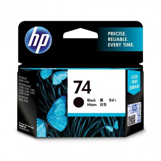 HP CB335WA Black Ink Cartridge (74)