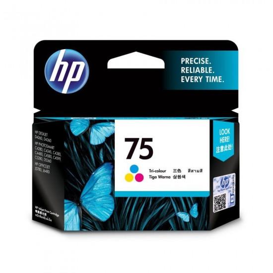 HP CB337WA Color Ink Cartridge (75)