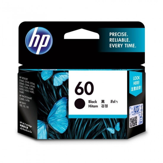 HP CC640WA Black Ink Cartridge (60)