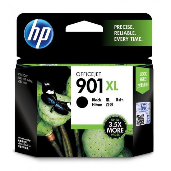 HP CC654AA Black Ink Cartridge (901XL)