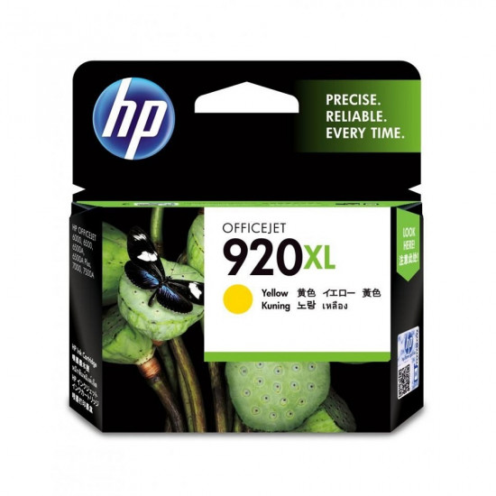 HP CD974AA Yellow Ink Cartridge (920XL)