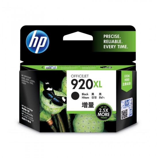 HP CD975AA Black Ink Cartridge (920XL)