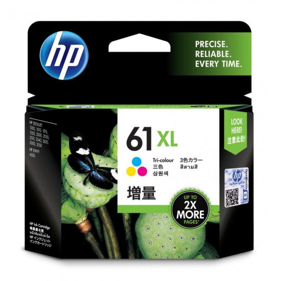 HP CH564WA Color Ink Cartridge (61XL)