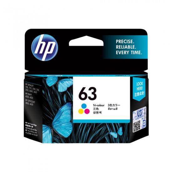 HP F6U61AA Color Ink Cartridge (63)
