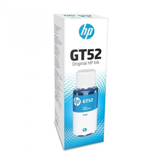 HP GT52 Cyan Ink Bottle M0H54AA (70ml)