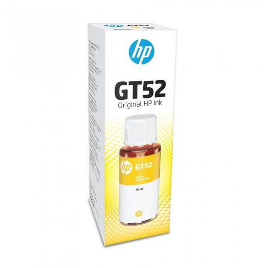 HP GT52 Yellow Ink Bottle M0H56AA (70ml)