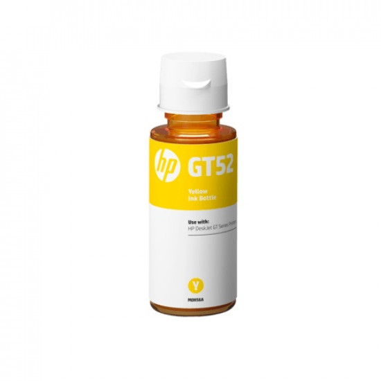 HP GT52 Yellow Ink Bottle M0H56AA (70ml)