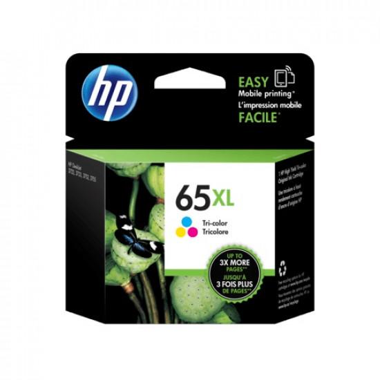 HP N9K03AA Color Ink Cartridge (65XL)