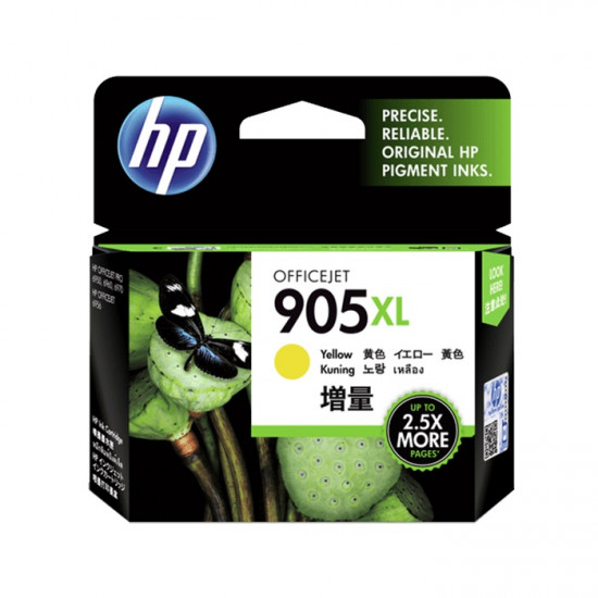 HP T6M13AA Yellow Ink Cartridge (905XL)