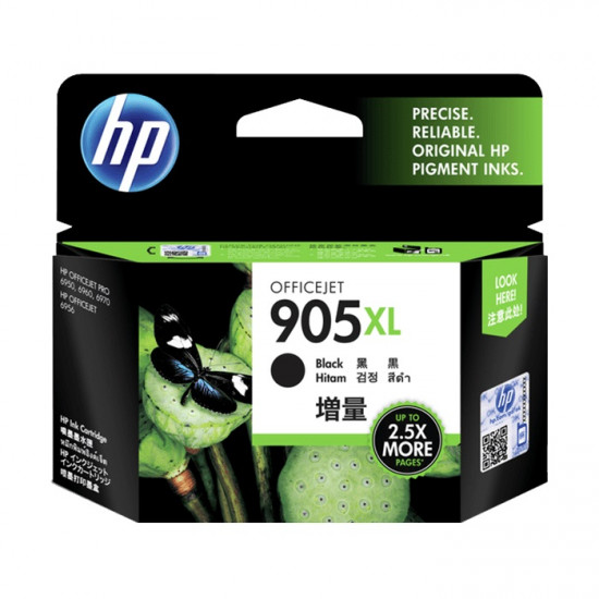 HP T6M17AA Black Ink Cartridge (905XL)