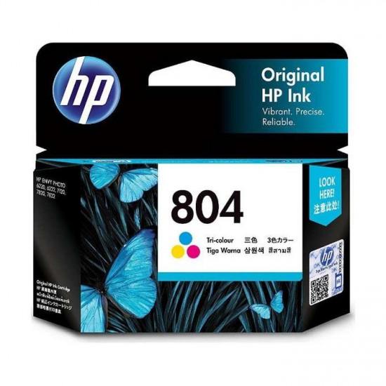 HP T6N09AA Color Ink Cartridge (804)