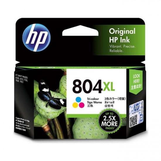 HP T6N11AA Color Ink Cartridge (804XL)