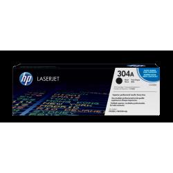 HP CC530A Black Toner Cartridge (304A)