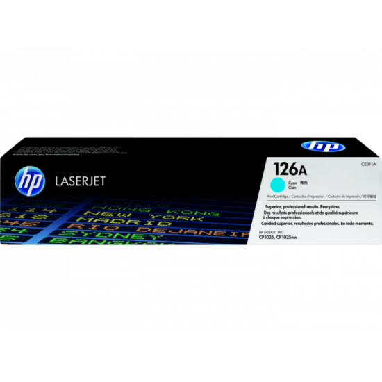 HP CE311A Cyan Toner Cartridge (126A)