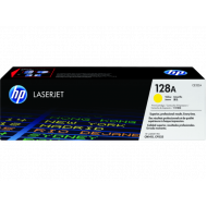 HP CE322A Yellow Toner Cartridge (128A)